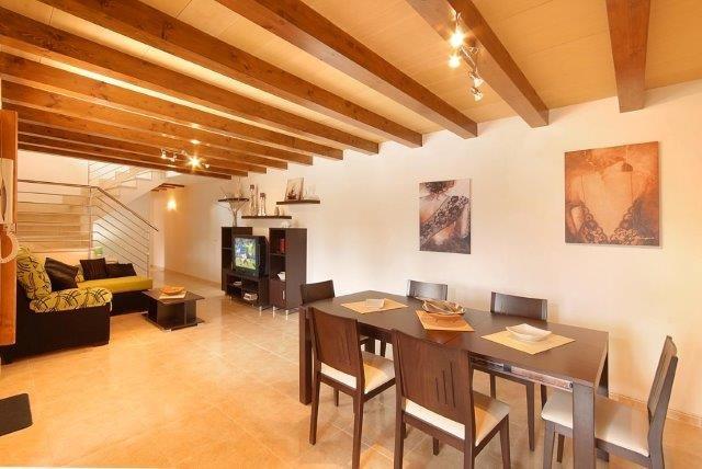Villa Cuxach Nou - woonkamer