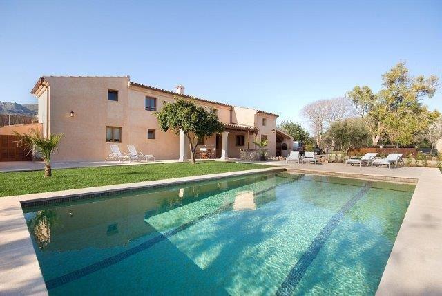 Villa Cuxach Nou - zwembad