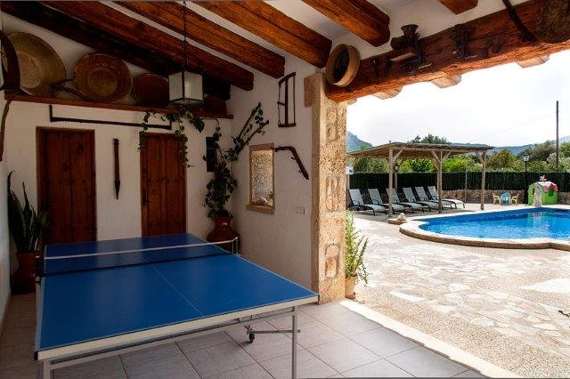 Villa Toni Mosca - tafeltennistafel