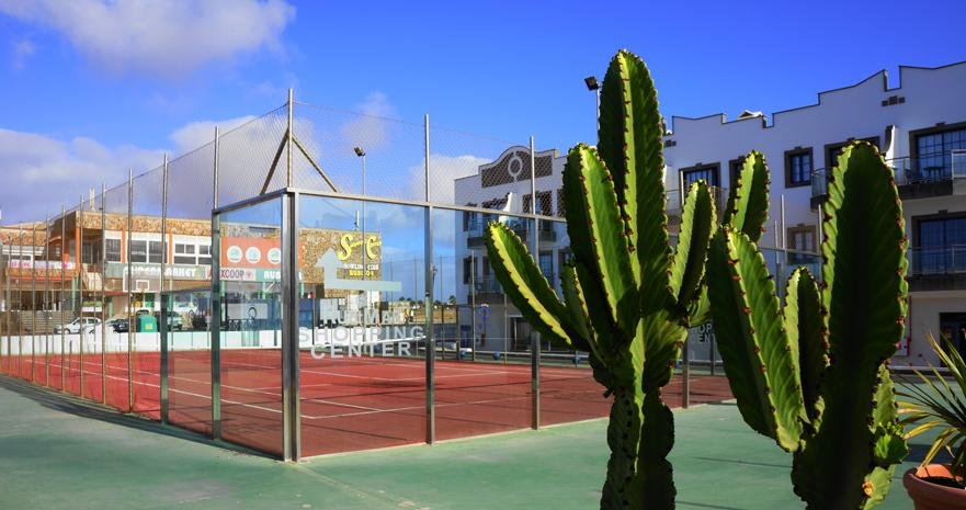 Aparthotel Rubimar Suite - tennisbaan
