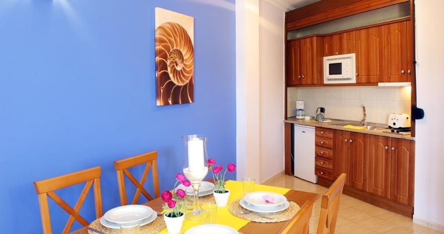 Aparthotel Rubimar Suite - keuken