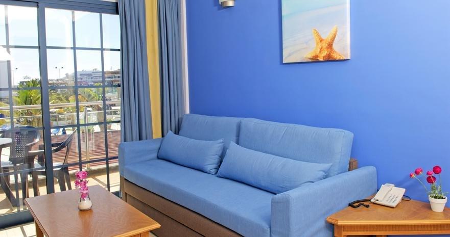 Aparthotel Rubimar Suite - woonkamer