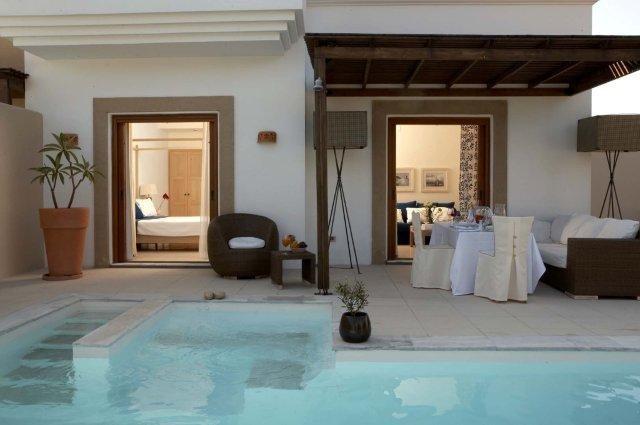 Hotel Lindian Village - zwembad/kamer
