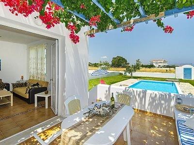 Villa Blue - terras