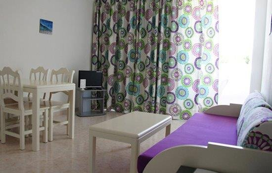 Appartementen Andreas - woonkamer