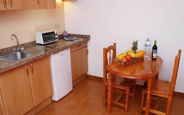 Appatementen Tarajales - keuken