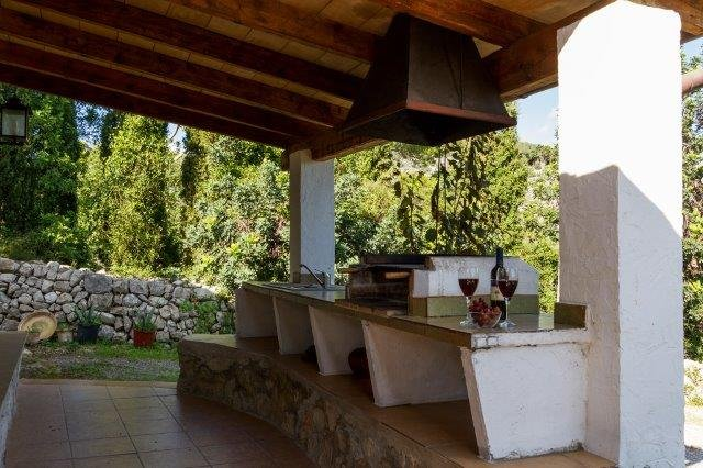 Villa Can Noguera - buitenkeuken