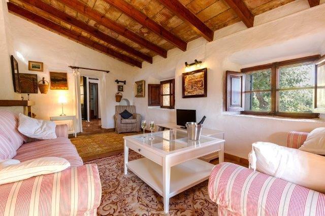 Villa Can Noguera - woonkamer