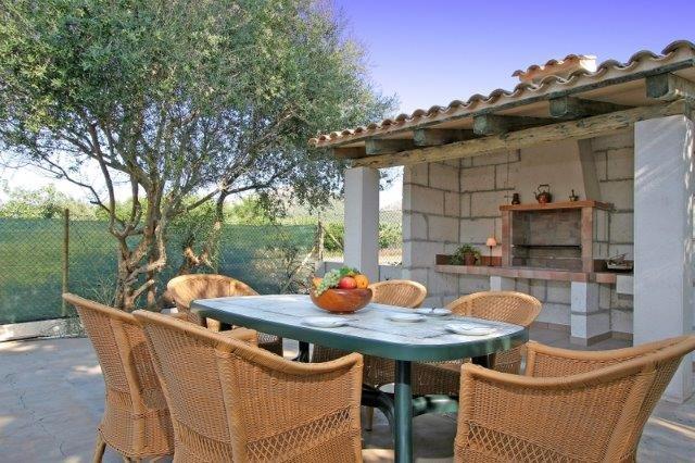 Villa Oscols - buitenkeuken