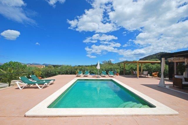 Villa Oscols - zwembad