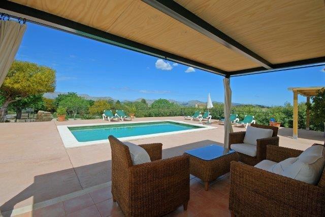 Villa Oscols - terras