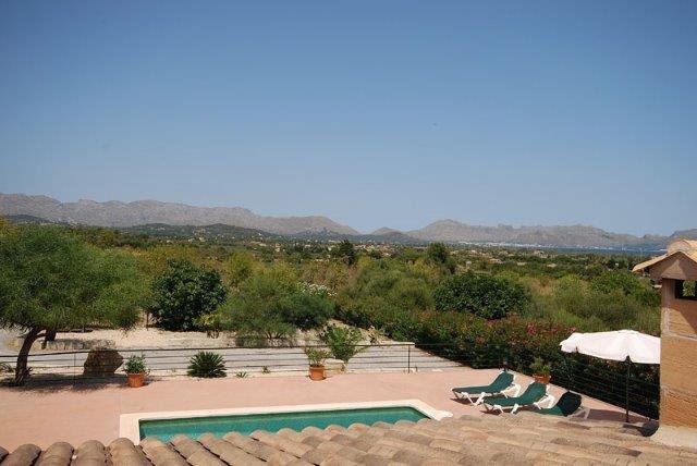 Villa Oscols - uitzicht