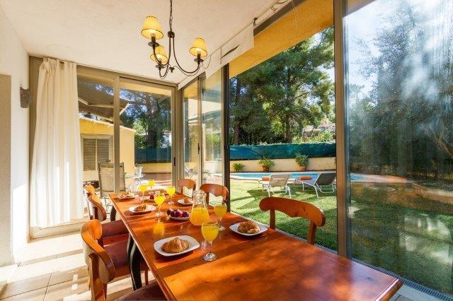 Villa Ses Oliveres - eettafel