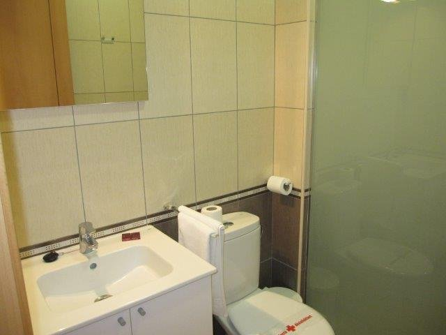 Appartementen Tres Palmeras - badkamer