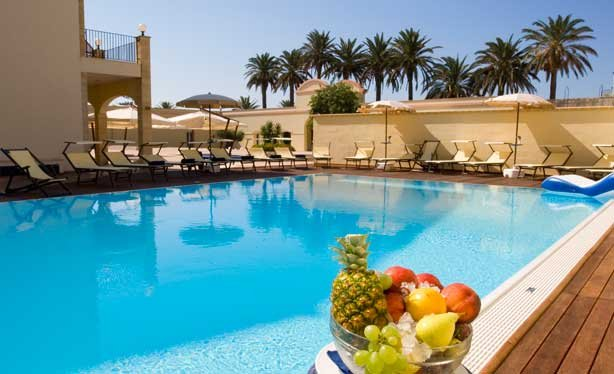 Bijzondere accommodaties Hotel Mahara in Mazara del Vallo (Sicilië, Italië)