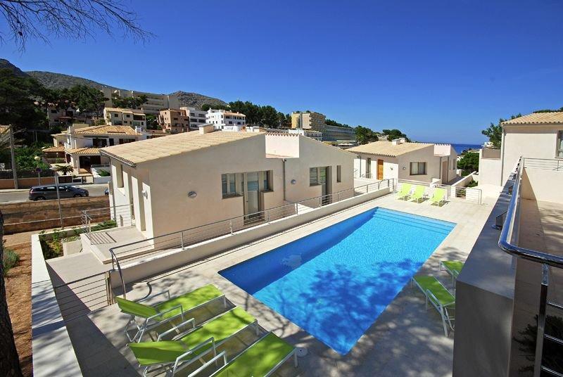 Appartementen Cala Molins - zwembad