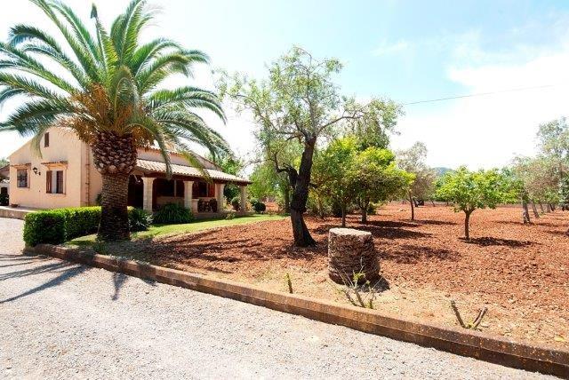 Villa Canyeto Poll - tuin