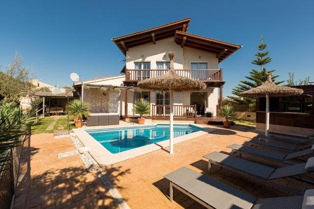 Bijzondere accommodaties Villa Son Font Muro in Port Pollença (Mallorca, Spanje)