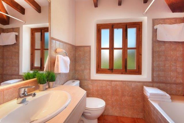 Villa Apostel - badkamer