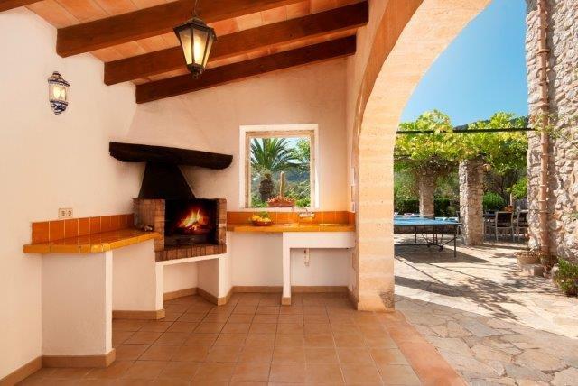 Villa Apostel - buitenkeuken