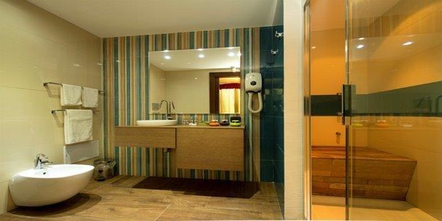 Hotel Baia di Ulisse - badkamer