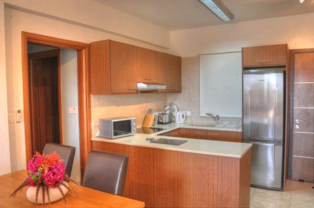 Appartementen Aphrodite Sands - keuken