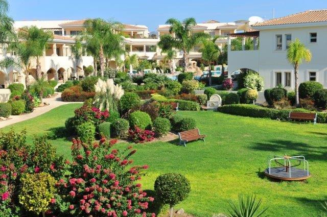 Appartementen Aphrodite Sands - tuin