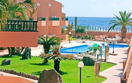 Bijzondere accommodaties Appartementen Tres Palmeras in Valle Gran Rey (La Gomera, Spanje)