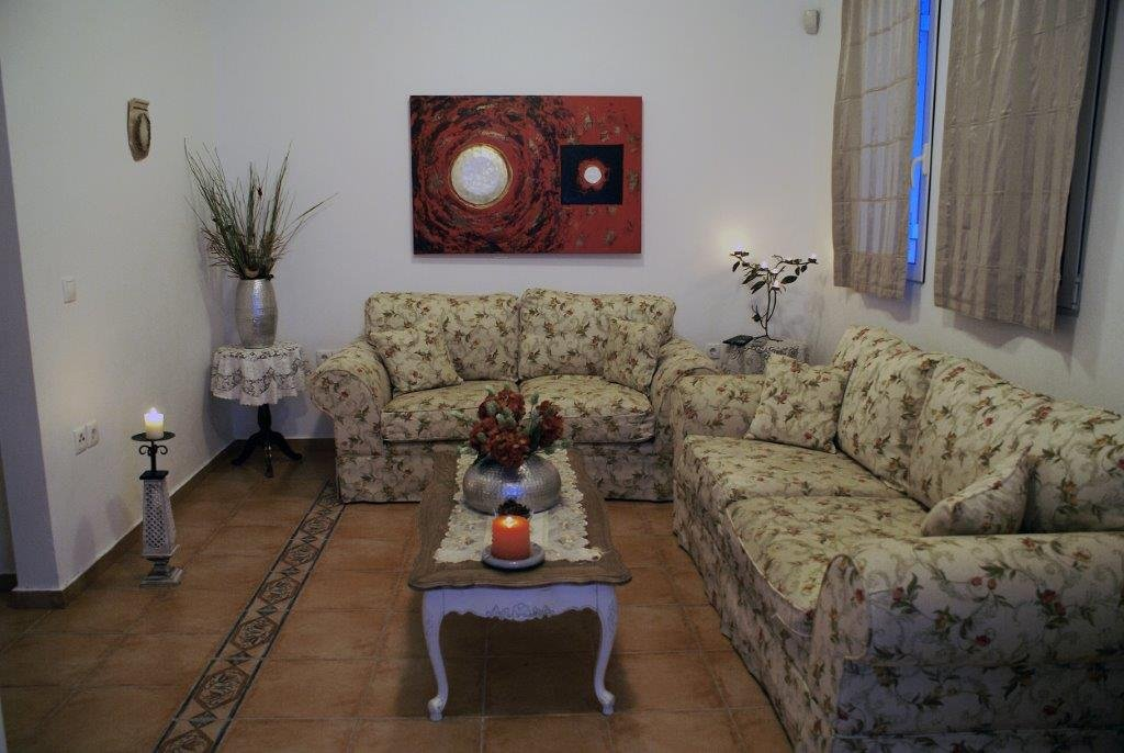 Villa Blue - woonkamer