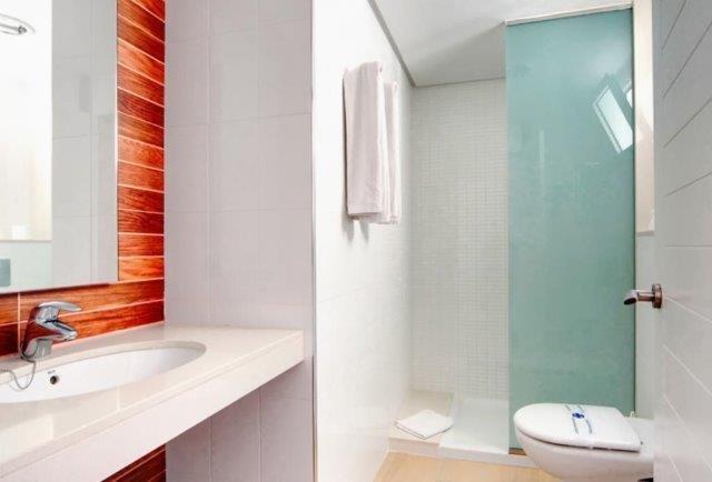 Appartementen Altair - badkamer