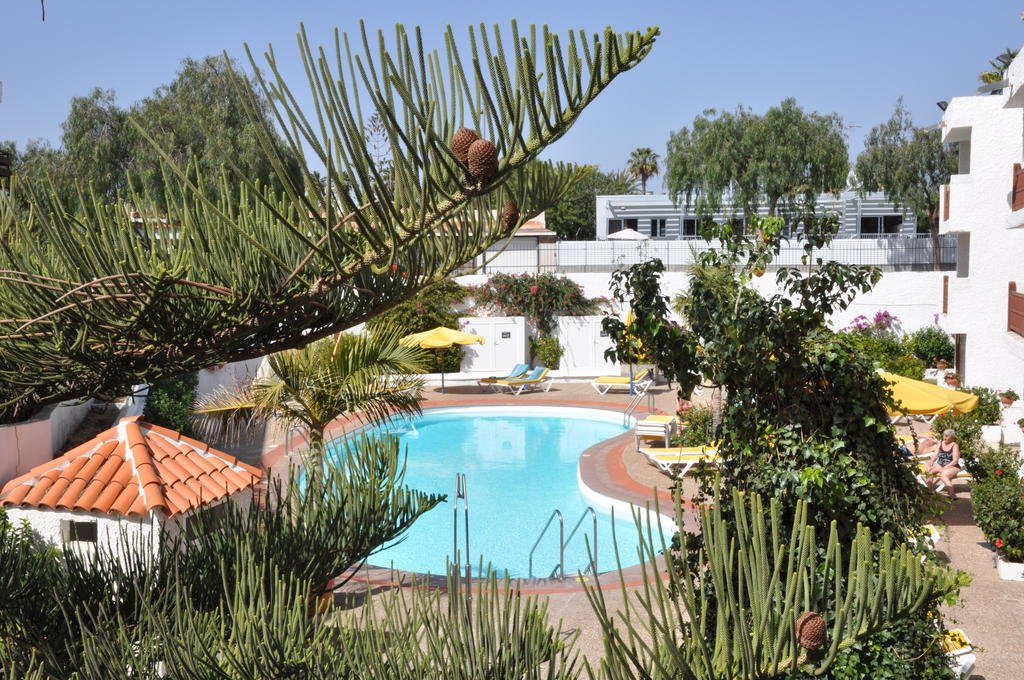 Appartementen Dunasol - zwembad