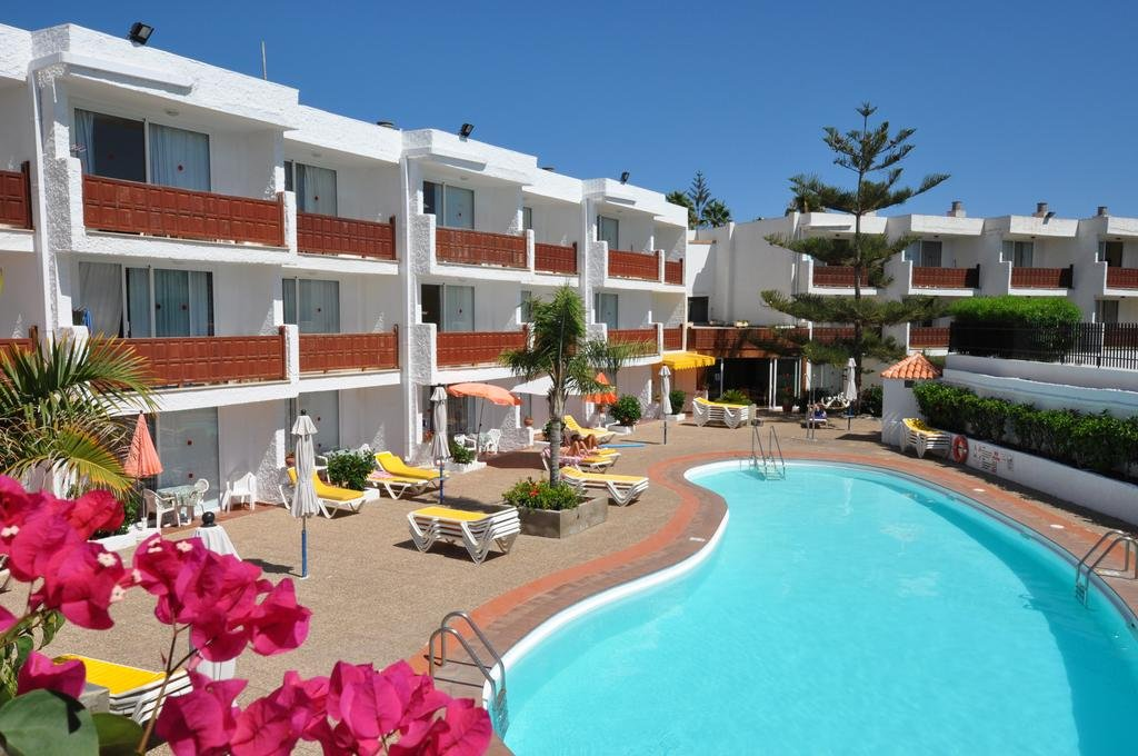 Bijzondere accommodaties Appartementen Dunasol in Playa del Inglés (Gran Canaria, Spanje)