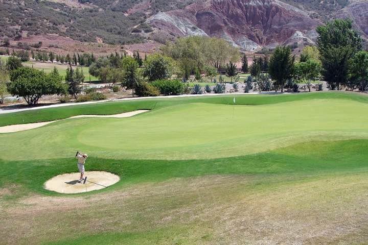 Villa Sands - golfbaan