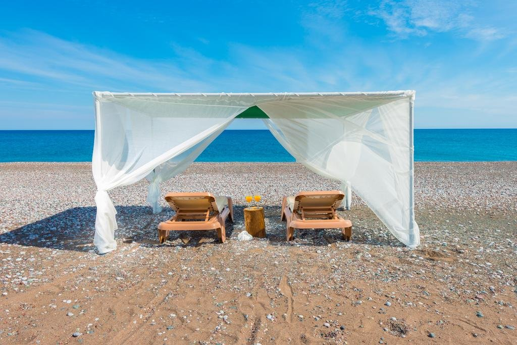Villa Akti - strand