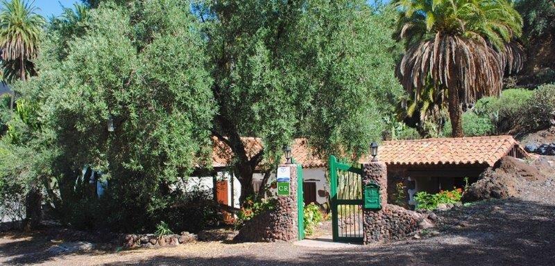 Casa El Palmeral de Valle - entree