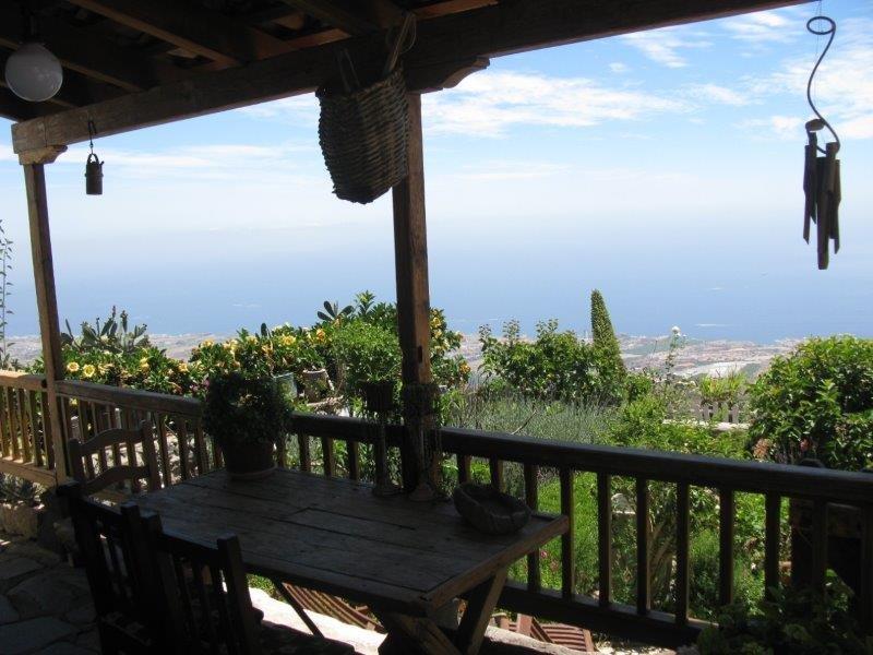 Casita Tajona - uitzicht vanaf het terras