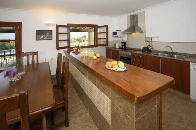 Villa Pou den Brux - keuken