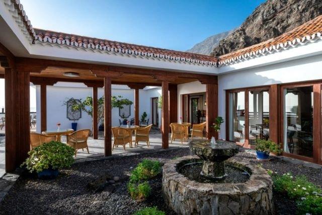 Hotel Parador El Hierro - terras