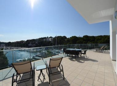 Appartementen Porto Drach - terras