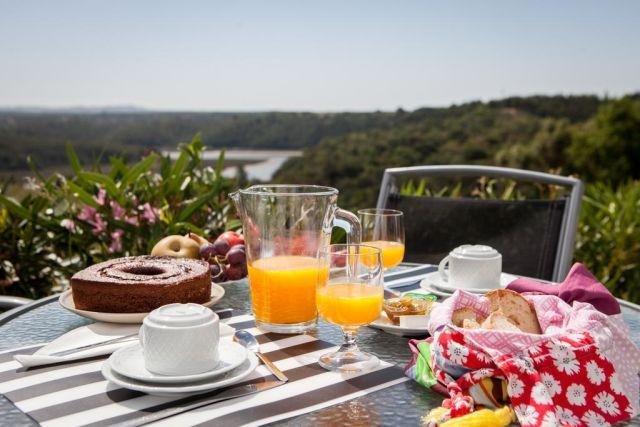 Appartementen Zambujeiro - ontbijt